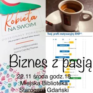 ZAPROSZENIE Biznes z pasją – Starogard Gdański